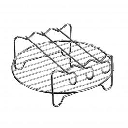 GOURMETmaxx Grillrost Edelstahl für die Heißluft-Fritteuse 2,6 l - Freisteller 1