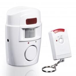 EASYmaxx Bewegungsmelder mit Alarmsignal in Weiß - Freisteller