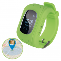 EASYmaxx Armbanduhr Kids Smart Watch OLED in Limegreen