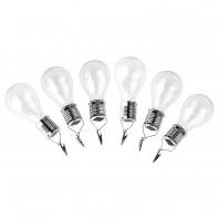 EASYmaxx Solar-Glühlampe mit 5 Micro-LED 3er-Set 1,2V Warmweiß