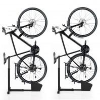 EASYmaxx Fahrradständer vertikal - 2er-Set