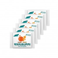 Das Kaugummi Orange/Ingwer 6er-Set je 11 Dragees - Freisteller