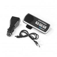 EASYmaxx Auto-Freisprecheinrichtung Bluetooth 3,7V in Schwarz/Silber