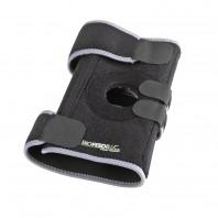 VITALmaxx Knie-Bandage Biofeedbac schwarz