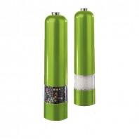 Design Salz- und Pfeffermühlen metallic limegreen - Freisteller