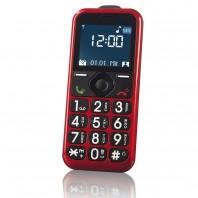 EASYmaxx Handy für alle rot - Frontansicht