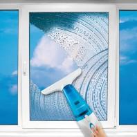 cleanmaxx Akku-Fensterreiniger 3in1 7,2V in Blau/Weiß - Freisteller