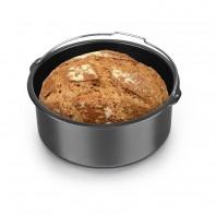 GOURMETmaxx Brotbackkorb 1,6l in Anthrazit für die Heißluft-Fritteuse - Freisteller Ambiente