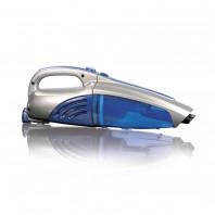 CLEANmaxx Akku-Handstaubsauger 2in1 in Blau/Silber