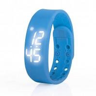VITALmaxx Fitness-Armband LED in Blau - Frontansicht