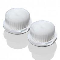 Bürstenkopf Super Soft, für die delany BEAUTY Sonic Sensitive Gesichtsbürste, 2er-Set - Freisteller
