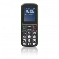 EASYmaxx Handy für alle 5V in Schwarz/Grün