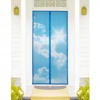 EASYmaxx Moskitonetz Magic Klick Himmelmotiv, 90 x 210 cm, mit Magneten für Türen - Ambiente