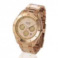 chronotrend Eleganz Armbanduhr, rosé - Freisteller