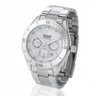 chronotrend Eleganz Armbanduhr, silber - Freisteller
