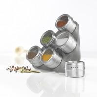 maxxcuisine - Magnetisches Gewürzregal inkl. 6 Gewürzdosen - Ambiente