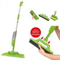 CLEANmaxx Multifunktions-Spray-Mopp 5-tlg. in Limegreen - Freisteller