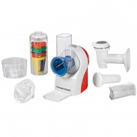 GOURMETmaxx Küchenmaschine 3in1 150W in Weiß