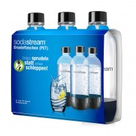 SodaStream PET Flasche 3er-Set Schwarz - Lieferumfang