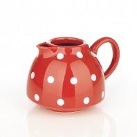 Ersatzkanne ohne Deckel für coffeemaxx Keramik Plus Pünktchendekor