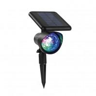 EASYmaxx Solar-Partyleuchte Lichtpunkte 1,2V in Schwarz