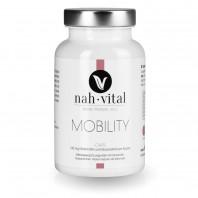 nah-vital Mobility Caps | 120 Kapseln für 4 Monate | mit Vitamin C, E, K, Chondroitin, Glucosamin, Hyaluronsäure