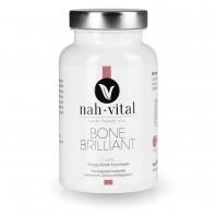 nah-vital BoneBrilliant Caps | 135 Kapseln für 45 Tage | mit Vitamin K, Vitamin C und Calcium