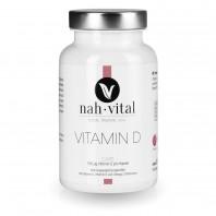 nah-vital Vitamin D Caps | 120 Kapseln für 1 Jahr | mit Vitamin D, K2 und Omega-3-Fettsäuren