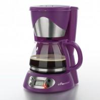coffeemaxx Kompakte Kaffeemaschine, lila - Freisteller