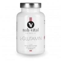 nah-vital L-Glutamin Caps | 120 Kapseln für 2 Monate | Unterstützt den Regenerationsprozess