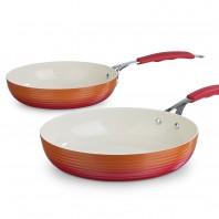 bratmaxx Gourmet Keramik-Pfannen 2er-Set - Freisteller