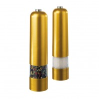 Design Salz- und Pfeffermühlen, 2er-Set, metallic-gold - Freisteller