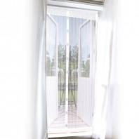 EASYmaxx Moskitonetz Magic Klick, 90 x 210 cm, in Weiß mit Magneten für Türen - Ambiente