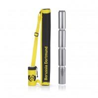 BVB Dosen-Kühltasche - Für bis zu 5 Halbliterdosen - 70 cm - gelb/schwarz