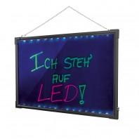 easy!maxx LED-Schreibtafel mit Farbwechsel, inkl. 2 Stiften und Reinigungstuch