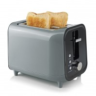 GOURMETmaxx Toaster 800W grau