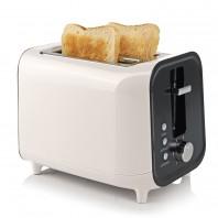 GOURMETmaxx Toaster 800W creme