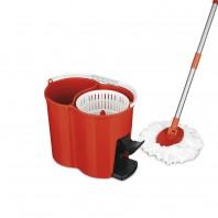 CLEANmaxx Power-Wischmopp, rot