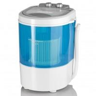 EASYmaxx Mini-Waschmaschine, weiß/blau
