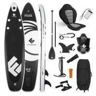 FitEngine Trip SUP-Board Set (Allrounder) - 10,8'- inkl. Kajak-Sitz