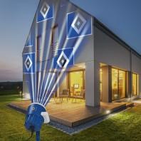 HSV LED-Motivstrahler - Projiziert das HSV -Logo - Für innen & außen