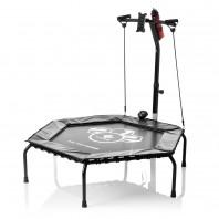 FitEngine Fitness-Trampolin Smart - 5-fach höhenverstellbarer Haltegriff