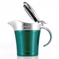 Thermo Sauciere smaragdgrün - Freisteller
