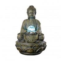 Deko-Brunnen Buddha für innen und außen -Freisteller