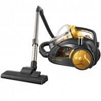 cleanmaxx Multizyklon-Staubsauger 2600 Watt Plus gold - Freisteller