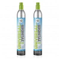 Soda Trend CO2-Kaufzylinder (je 425g-Füllung) - 2er-Set