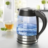 GOURMETmaxx Glas-Wasserkocher mit LED-Beleuchtung 1,8 L - Ambiente