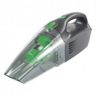 cleanmaxx Akku-Handsauger nass/trocken 2.0 mit Ladestation, dunkelgrau-grün - Freisteller
