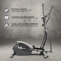 FitEngine Crosstrainer - belastbar bis 150 kg - 10 Schwierigkeitsstufen