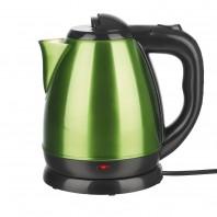 GOURMETmaxx Wasserkocher Edelstahl-Design 2200W limegreen - Freisteller